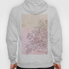 Rose Word Map Europe Hoody