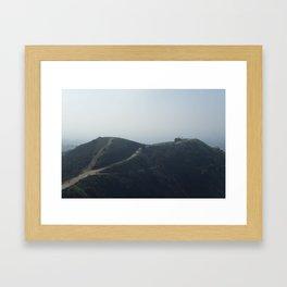 Whittier Hills Framed Art Print