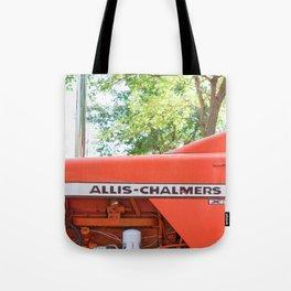 Allis - Chalmers Vintage Tractor Tote Bag