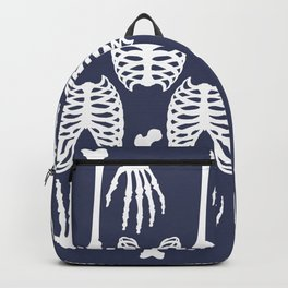 Bones Pattern Backpack