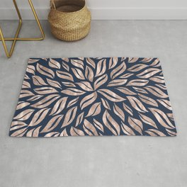 Sunburst Glam #3 #rosegold #decor #art #society6 Rug