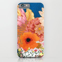 Flowers Everywhere iPhone Case