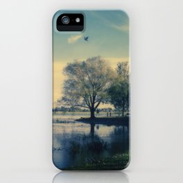 Lake Wendouree iPhone Case