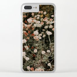 Sutro Flowers Clear iPhone Case