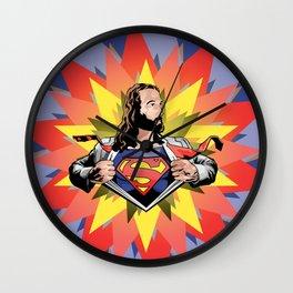 Super Jesus [Parody Mashup Satire] Wall Clock