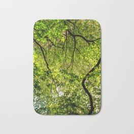 Tree Leafs. Bath Mat