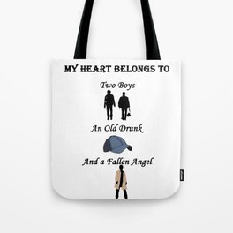 My Heart Belongs to Supernatural Tote Bag