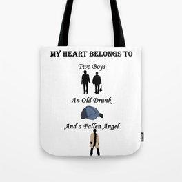 My Heart Belongs to Supernatural Tote Bag