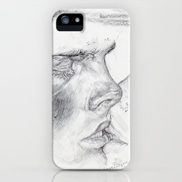 Kissing Insecurities iPhone Case