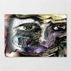 Henna Man Canvas Print
