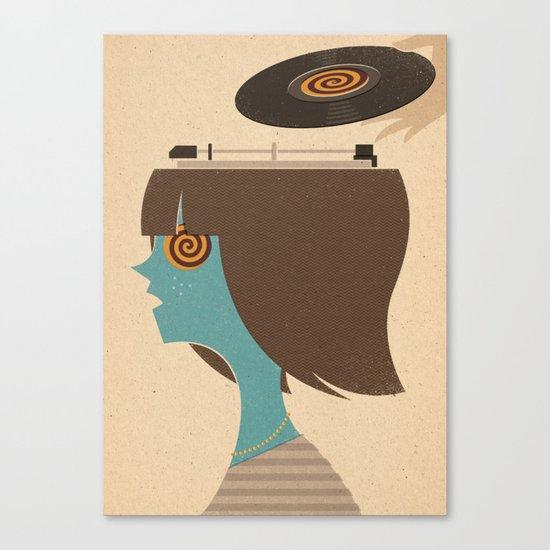 Mind Control Canvas Print
