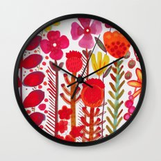 rouge love Wall Clock