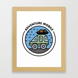 Adventure Mobile Framed Art Print