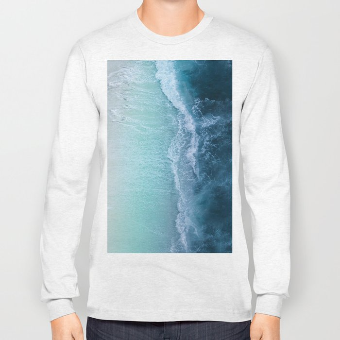Turquoise Sea Long Sleeve T-shirt