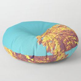 Golden Tree Floor Pillow