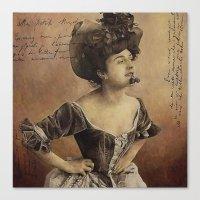 postcard Canvas Prints featuring ''Postcard'' by Nina Petrova