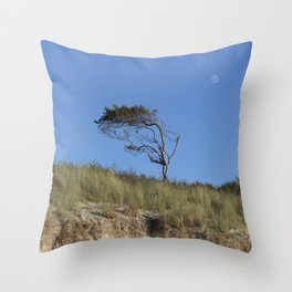 At The Baltic Sea Throw Pillow