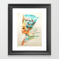 Nefertiti Framed Art Print