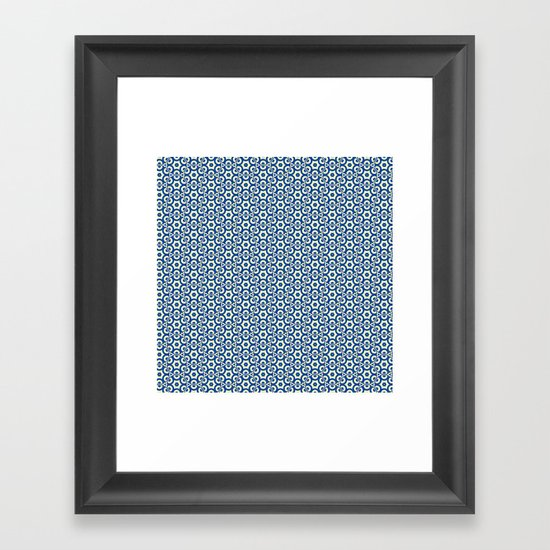 Blue Eyes Framed Art Print