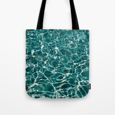 SEA - blue , white ocean , waves , clear , clarity Tote Bag
