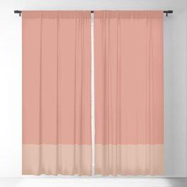 VINTAGE ROSE x PEACH Blackout Curtain