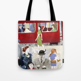 At the station Tote Bag