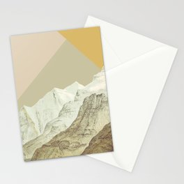 Modern Mountains No. 3 Stationery Cards