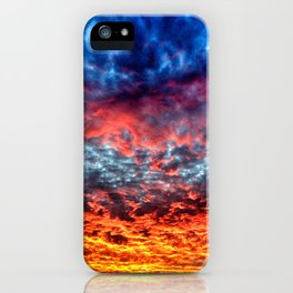 Red Sky at Night, Sailor's Delight iPhone Case