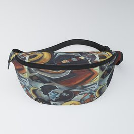 Indigo Blues Fanny Pack