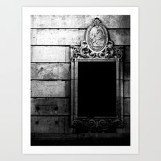 Shadows Framed  Art Print
