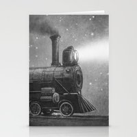 kindle Stationery Cards featuring Rooftoppers - Chapter Six by Terry Fan