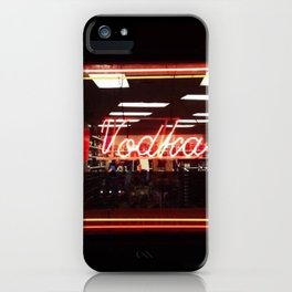 Vodka iPhone Case