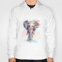 elephant Hoodies featuring Elephant by I AM DIMITRI