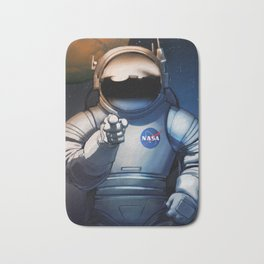 NASA Recruitment Poster /We Need You Bath Mat