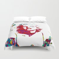 monroe Duvet Covers featuring MONROE by Bianca Lopomo