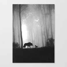 Reunited Canvas Print