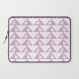 Lavender Triangle Pattern Laptop Sleeve