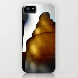 The swirled eclipse iPhone Case
