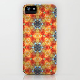 Orange Blossom and Blue Jeans iPhone Case