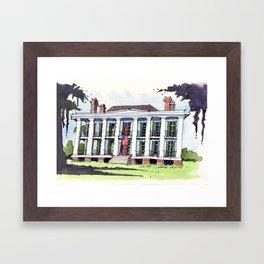 Ducros House, Thibodaux, Louisiana Framed Art Print