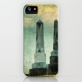 Headstones iPhone Case