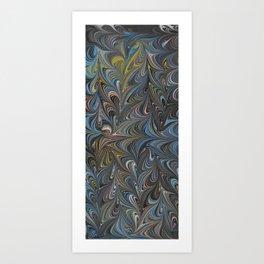 Marble Print #22 Art Print