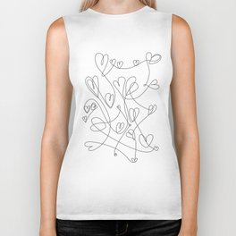love will keep us together Biker Tank