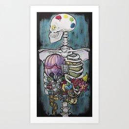 Anatomy of Whimsy Art Print
