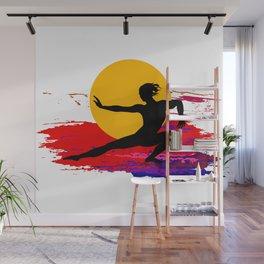Martial art, karate, judo, aikido, self defence Wall Mural