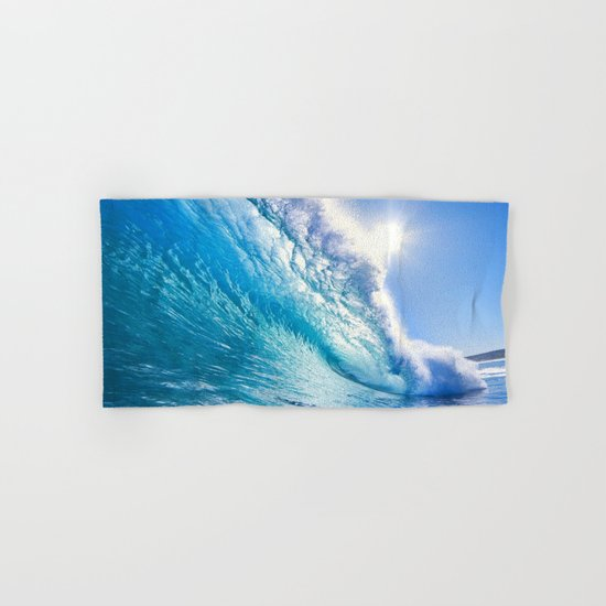 Blue Waves Hand & Bath Towel