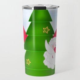 Upsi Santa Claus CB Travel Mug