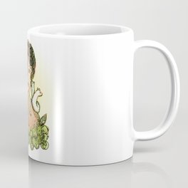 Girl with ferrets  Coffee Mug