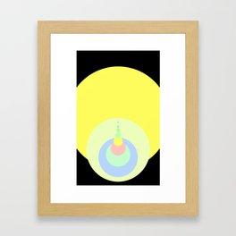 Drops of Water Framed Art Print