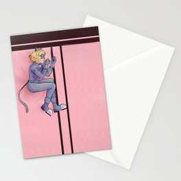 Kitty on a Blanket Stationery Cards